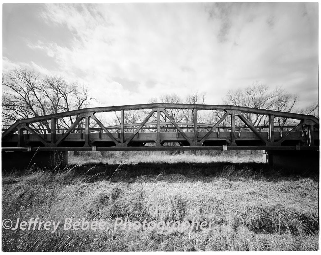 Bridge South of Franklin Nebraska.  Over the Republican River