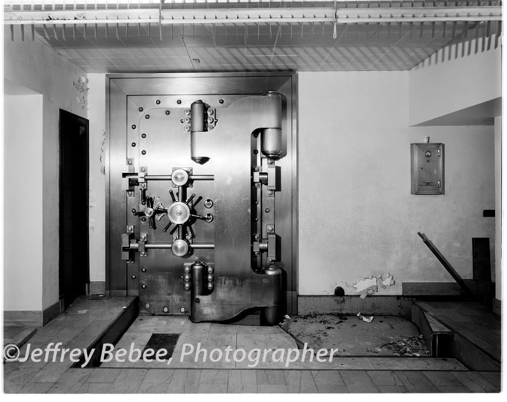 Vault.  Omaha Branch of Kansas City Federal Reserve
