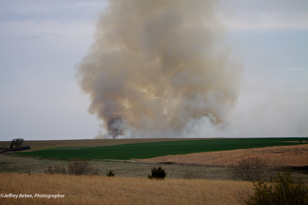 Prescribed Burn, Arapahoe Nebraska