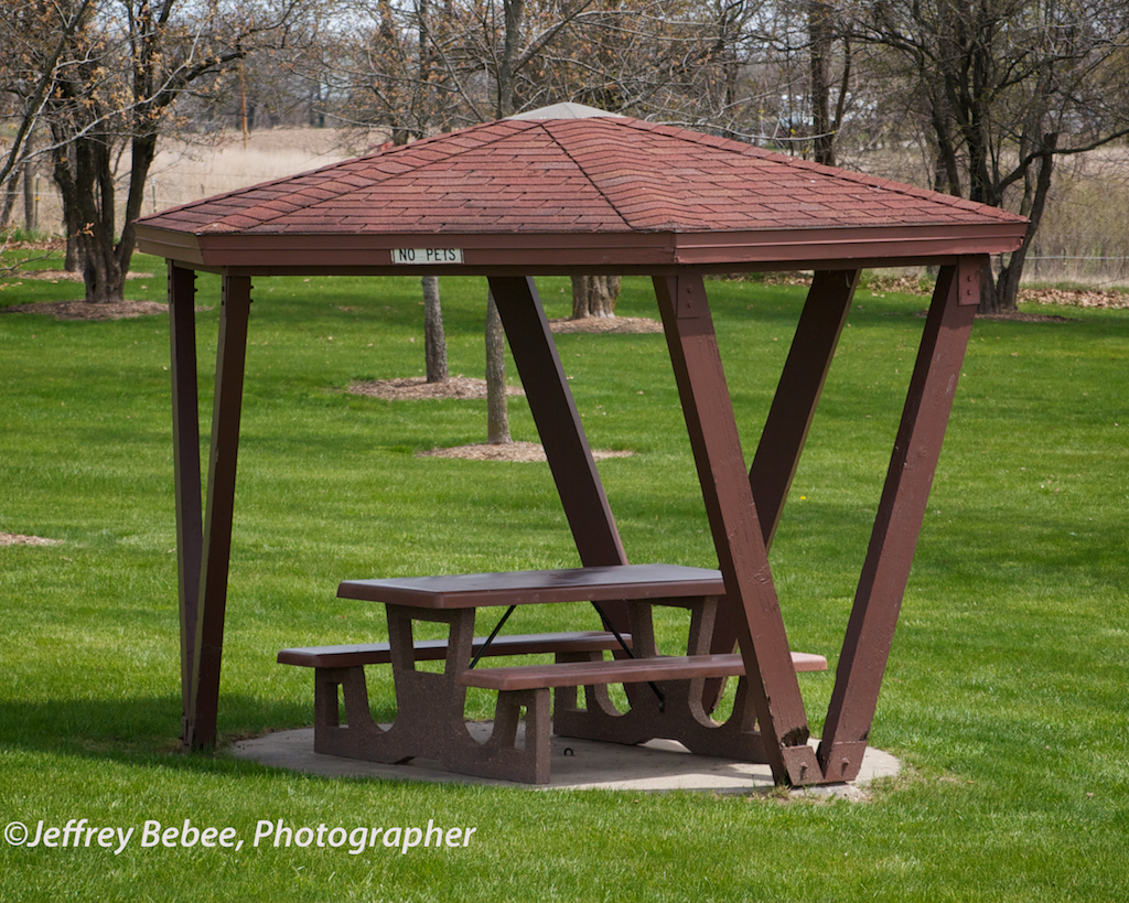 Shelter, Iowa Rest Stop